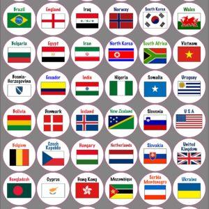 99 world flags Longer PF
